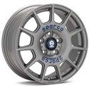 Sparco Terra - 18x8.0 +40 5x108 - Matte Silver / Blue