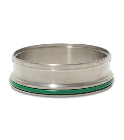 Vibrant HD Clamp Titanium Weld Ferrules - 3.50in OD Tubing