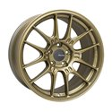 Enkei GTC02 18x9.5 5x114.3 40mm Offset 75mm Bore - Titanium Gold