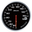 Defi Advance BF White Oil Temperature Gauge - Metric / 60mm