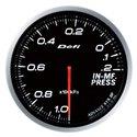 Defi Advance BF White Intake Manifold Pressure Gauge - Metric / 60mm