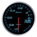 Defi Advance BF Blue Intake Manifold Pressure Gauge - Metric / 60mm