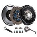 DKM Clutch Kit MB w/ Steel Flywheel - Sprung / Organic / FSI 6-Bolt