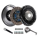DKM Clutch Kit MB w/ Steel Flywheel - Sprung / Organic / TSI 8-Bolt