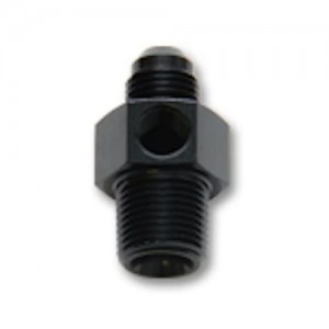Union with 1/8 NPT Port - Male AN to Male NPT