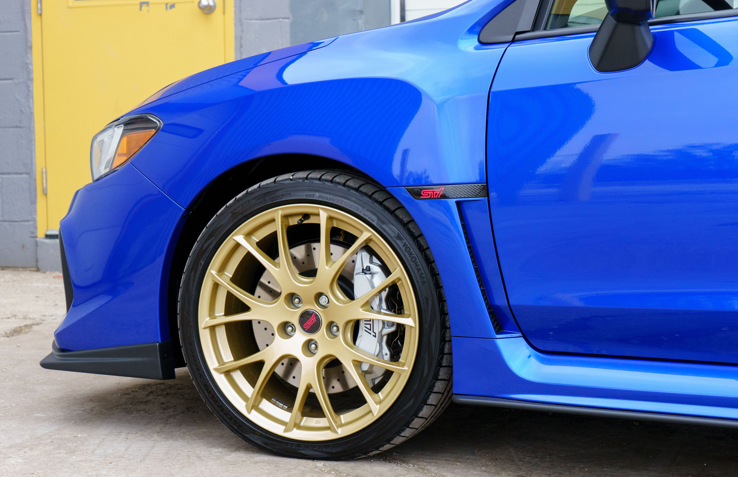 Subaru STi Type-RA at Limitless Motorsports in Mississauga